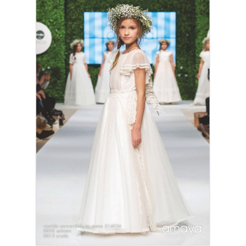 Vestido Convertible Comunión Amaya 516026MC