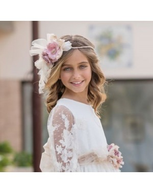 First Communion Headband Magnífica Lulú 734C