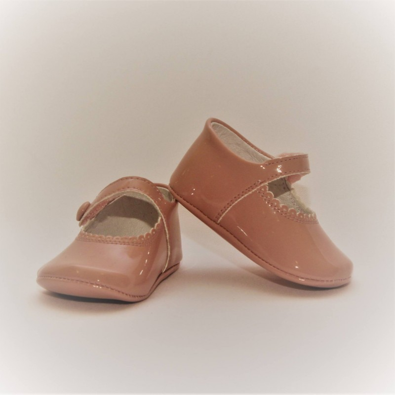 Mary Jane Patent Leather baby shoes
