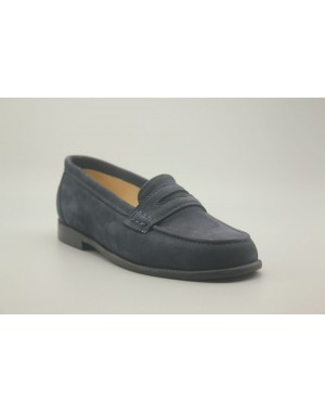 Loaffers Shoes Nobuck Leather 24-30