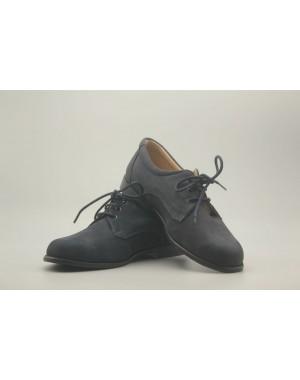 Zapato Niño Cordón Piel Nobuk 31-40