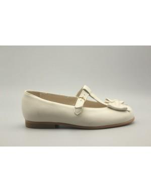 Zapato Mercedita Lazo Frontal Piel 31-40