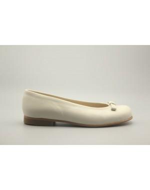 Zapato Bailarina Lazo Piel 31-40