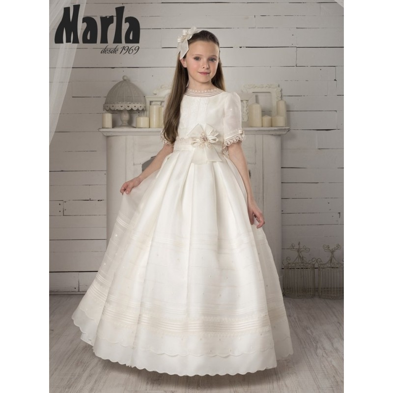 First Communion Dress Marla K252