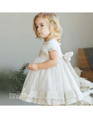 Vestido Bebé Con Capota 512010 Amaya