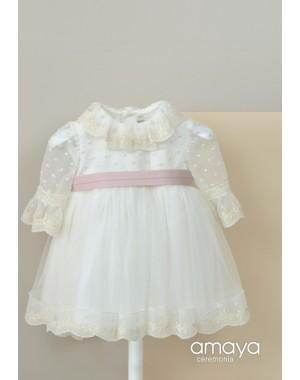 Vestido Ceremonia Bebé 512014 Amaya