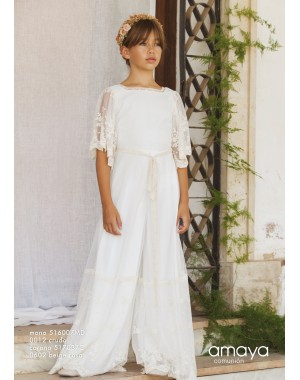 First Communion Jumpsuit Amaya 516007MD