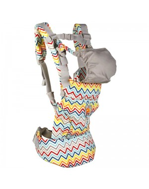 Mochila portabebés COMFORT BABY AFRICAN ROUTES TUC TUC