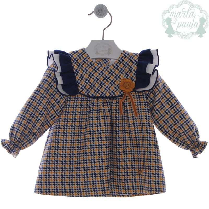 Vestido Bebé Arlequín 5100 Marta y Paula