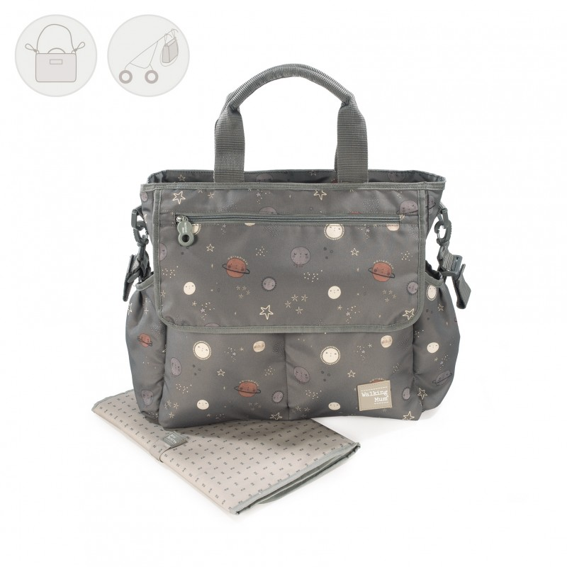 Bolsa Canastilla Moon Walking Mum