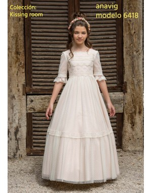 First Communion Dress Anavig 6418