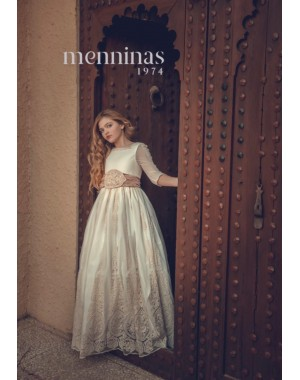 First Communion Dress Menninas M3018