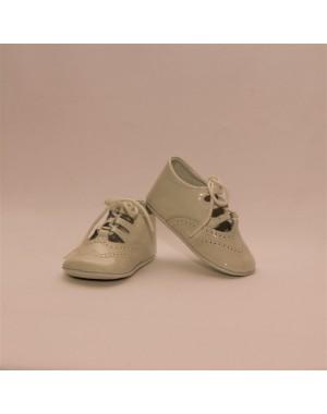 Zapato bebé Inglés sin suela piel charol
