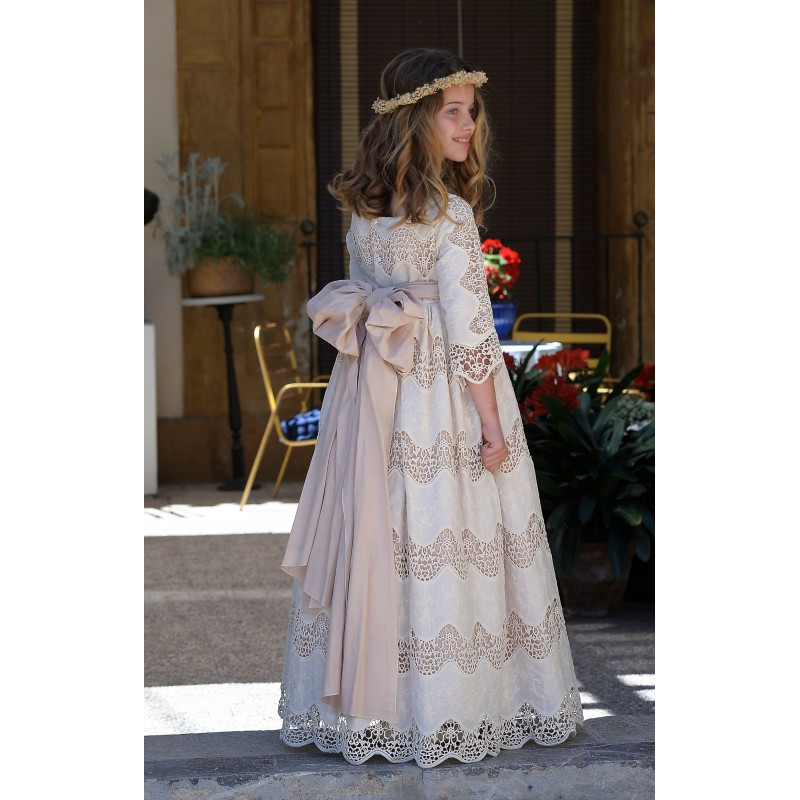 First Communion Dress 2020 La Befana 057