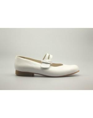 Zapato Mercedita Lazo Piel 17-23